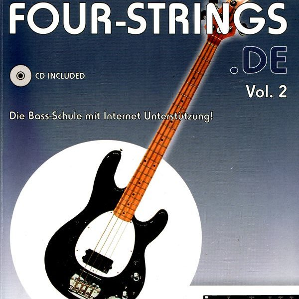 Cover Four Strings Vol. 2 (B600)