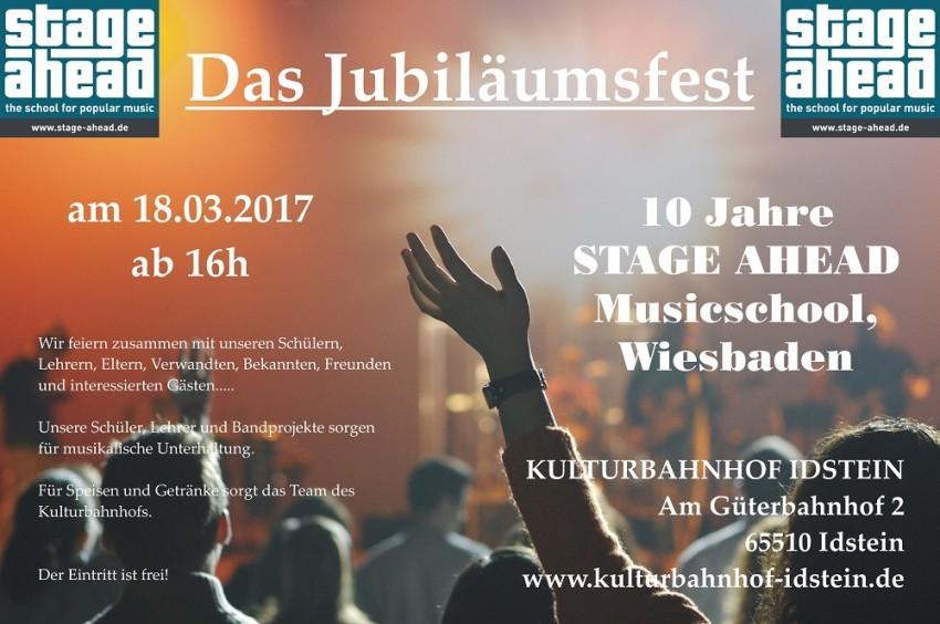 Das Jubiläumsfest 2017 (B1000)