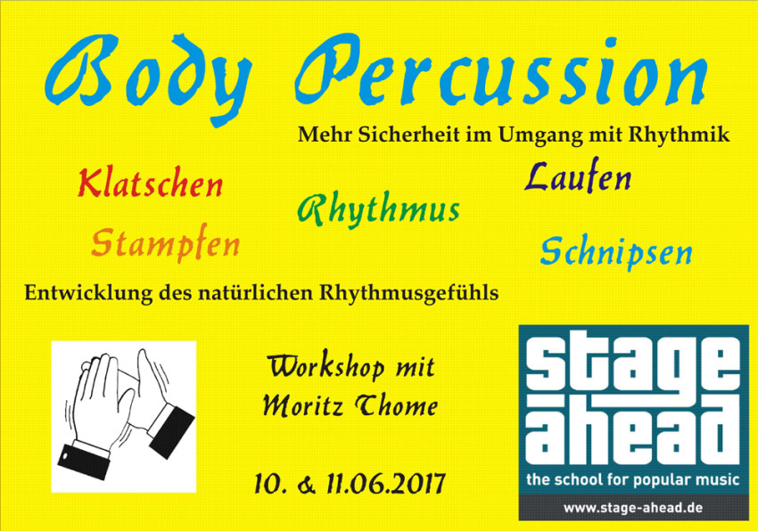 Body Percussion Workshop (B1000)