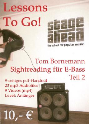 Lessons To Go - Sightreading für E-Bass (Teil 2) copy