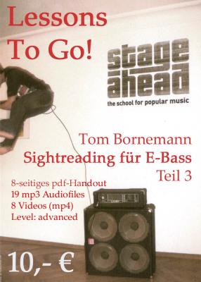 Lessons To Go - Sightreading für E-Bass (Teil 3)_mit Preis copy