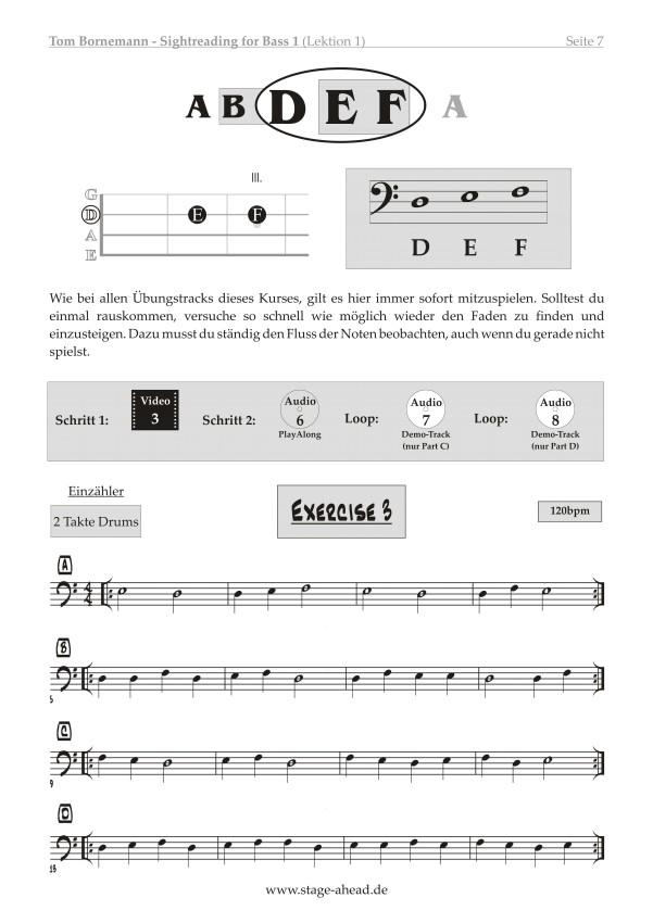 Tom Bornemann - Sightreading für E-Bass (Teil 1)_Seite 7