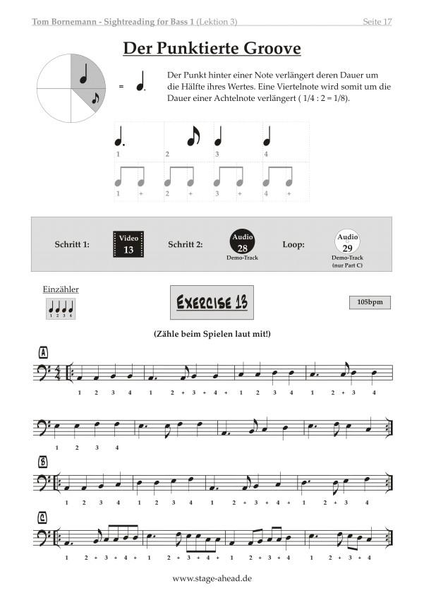 Tom Bornemann - Sightreading für E-Bass (Teil 2)_Seite 17