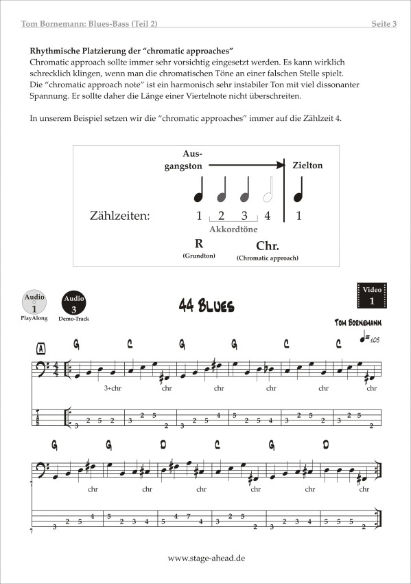 Lesson To Go - Blues Bass (Teil 2) - Seite 3