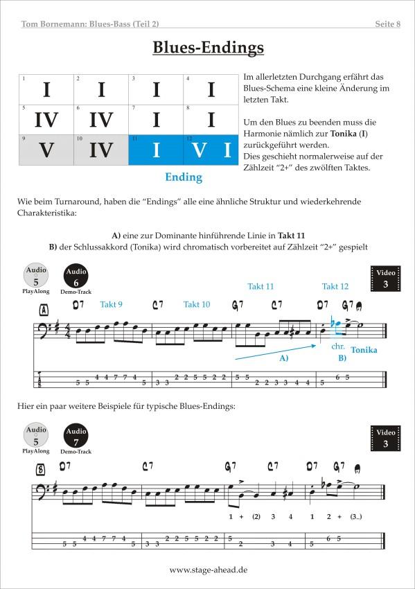 Lesson To Go - Blues Bass (Teil 2) - Seite 8