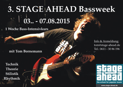 3. STAGE AHEAD Bassweek (B800)