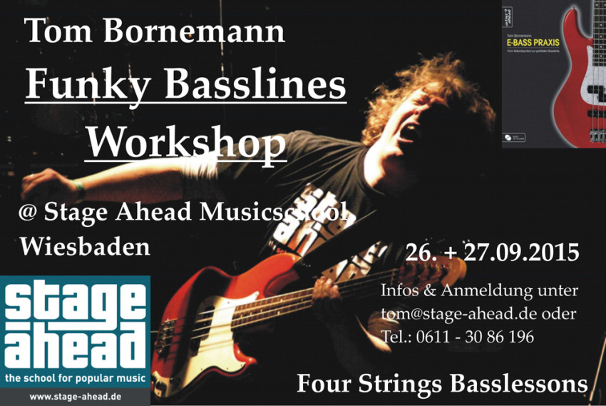 Funky Basslines Workshop (B1000)