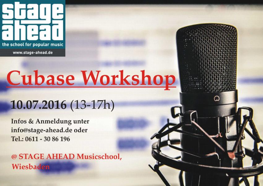 Cubase Workshop (B1000)