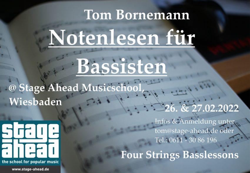 Notenlesen für Bassisten